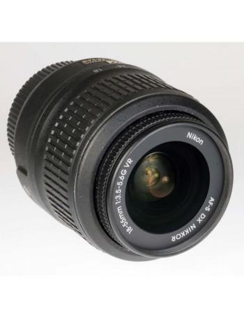 Objetiva Nikon AF-S 18-55mm f3.5-5.6G VR DX - USADA