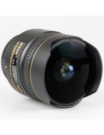 Objetiva Nikon AF 10,5mm Fisheye f2.8G ED DX - USADA