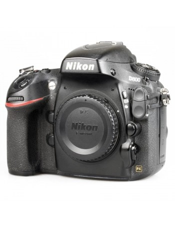 Câmera DSLR Nikon D800 CORPO Fullframe 36MP - USADA (70.205 disparos)