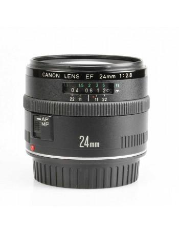 Objetiva Canon EF 24mm f2.8 - USADA