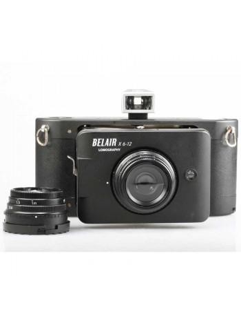 Câmera analógica médio-formato Lomography Belair X 6-12 City Slicker com 2 lentes - USADA