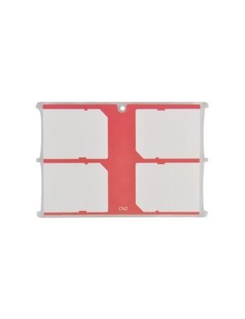 Estojo JJC MCH-SD4CN para cartão de memória - acomoda 4 cartões SD