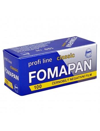 Filme fotográfico 120 Fomapan Classic ISO 100 Preto e Branco