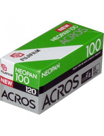 Filme fotográfico 120 Fujifilm Neopan Acros ISO 100 Preto e Branco (VENCIDO EM 08/2017)