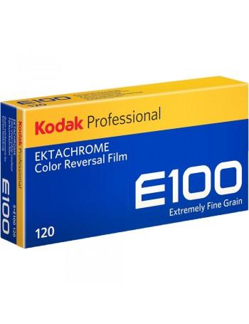Filme fotográfico 120 Kodak Ektachrome E100 ISO 100 Colorido Positivo (caixa com 5 unidades)