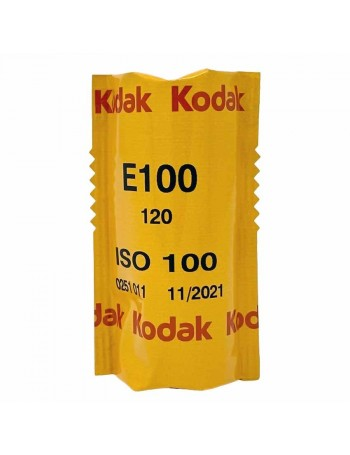 Filme fotográfico 120 Kodak Ektachrome E100 ISO 100 Colorido Positivo