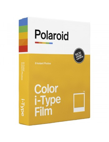 Filme Instantâneo Colorido Polaroid i-Type (8 fotos)
