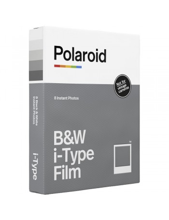 Filme Instantâneo Preto e Branco Polaroid i-Type (8 fotos)