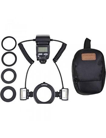 Flash Macro Twin TTL Yongnuo YN-24EX para Canon