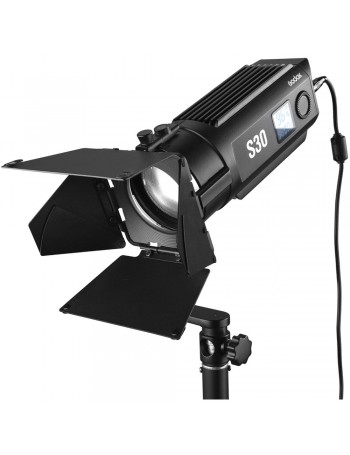 Iluminador Fresnel de LED Godox S30 Bivolt