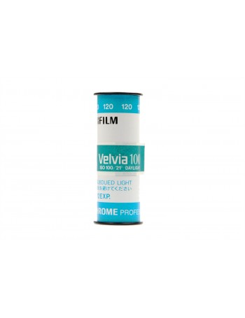 Filme 120 Fujifilm Velvia ISO 100 Positivo Colorido