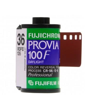 Filme 35mm Fujifilm Fujichrome Provia 100F ISO 100 Colorido 36 poses