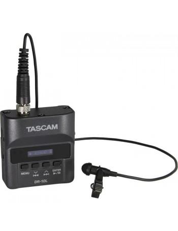 Gravador de áudio com microfone de lapela Tascam DR-10L