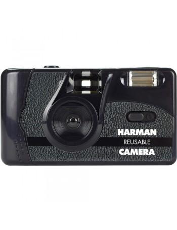 Câmera analógica compacta 35mm Harman technology + 2 filmes Kentmere ISO 400