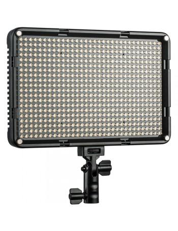 Iluminador de LED Viltrox VL-D640T com controle remoto e fonte de alimentação Bivolt