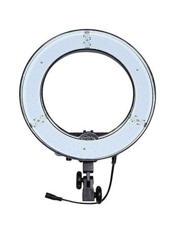 Iluminador de LED Circular Greika Ring Light RL12 + tripé de iluminação