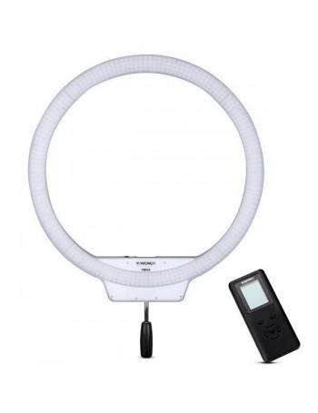 Iluminador de LED Circular Yongnuo Ring Light YN608 RGB + fonte de alimentação