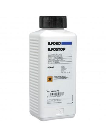 Interruptor líquido Ilford Ilfostop - 500ml (rende 10 litros)