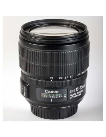 Objetiva Canon EF-S 15-85mm f3.5-5.6 IS USM - USADA