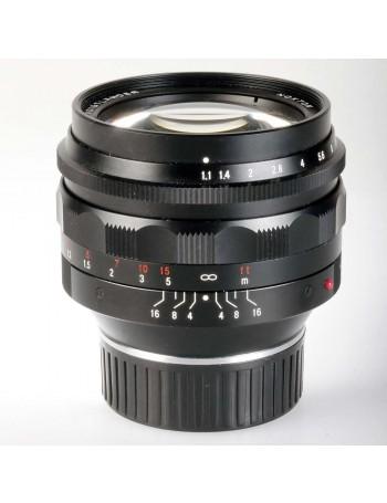 Objetiva Voigtländer Nokton 50mm f1.1 para Leica M - USADA