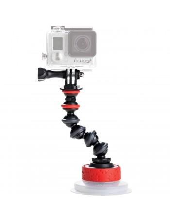 Ventosa com braço flexível Joby GorillaPod para câmeras de ação JB01329-BWW