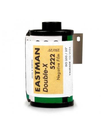 Filme fotográfico 35mm Kodak Eastman Double-X 5222 ISO 250 Preto e Branco (REBOBINADO)