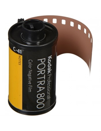 Filme 35mm Kodak Portra ISO 800 Colorido 36 poses
