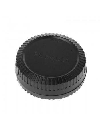 Kit com tampas de proteção (traseira da lente + corpo da câmera) para sistema Fujifilm X
