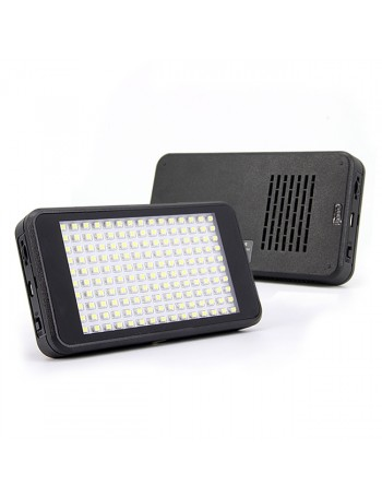 Iluminador de LED Video Light LED-VL011-150 com bateria interna