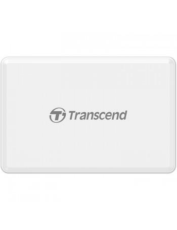 Leitor de cartão de memória universal Transcend RDF8W2 USB 3.1