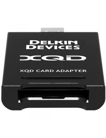 Leitor de cartão de memória XQD Delkin Devices USB 3.1 Premium