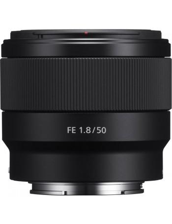 Objetiva Sony FE 50mm f1.8