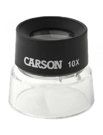 Lupa Carson LumiLoupe com 10x de ampliação
