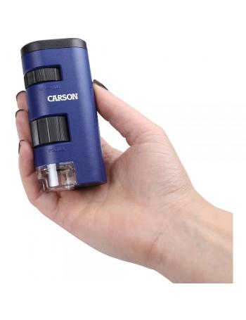 Microscópio de bolso Carson MM-450 PocketMicro (20 a 60x de ampliação)