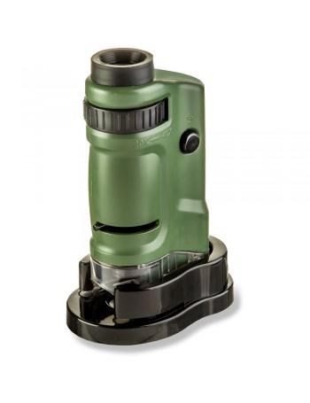 Microscópio de bolso Carson MM-24 MicroBrite (20 a 40x de ampliação)