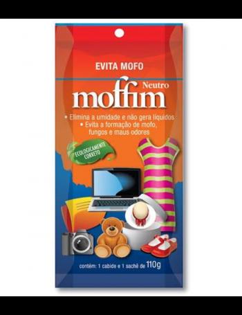 Desumidificador e anti-mofo Moffim - 1 sachê de 110g