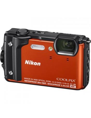 Câmera compacta a prova d'água Nikon Coolpix W300 (LARANJA)