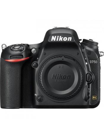 Câmera DSLR Nikon D750 CORPO Fullframe 24,3MP