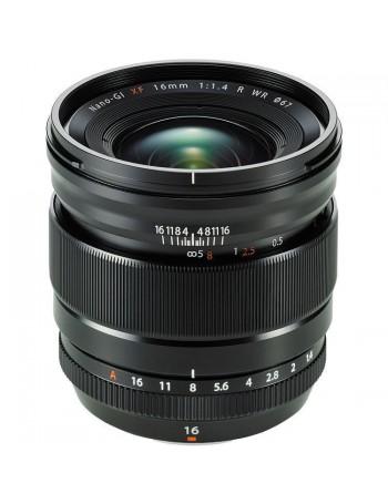 Objetiva Fujifilm XF 16mm f1.4R WR