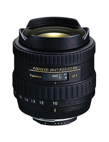 Objetiva Tokina AT-X 10-17mm Fisheye f3.5-4.5 DX para Nikon