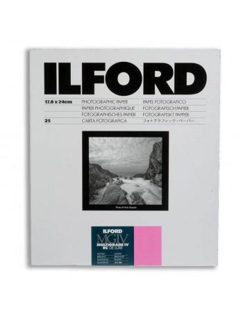 Papel Fotográfico Preto e Branco Ilford Multigrade IV RC Deluxe 18x24 - 25 folhas (Brilhante)