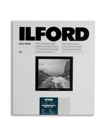 Papel Fotográfico Preto e Branco Ilford Multigrade IV RC Deluxe 18x24cm - 25 folhas (Pérola)