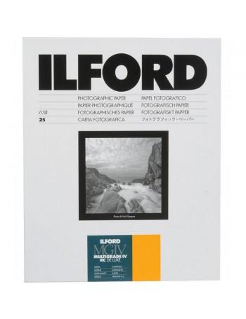 Papel Fotográfico Preto e Branco Ilford Multigrade IV RC Deluxe 18x24cm - 25 folhas (Acetinado)