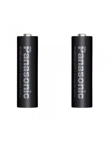 Pilha AA recarregável Panasonic Eneloop Pro 2550mAh - cartela com 2 unidades
