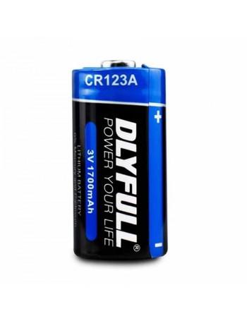 Pilha Dlyfull Lithium CR123a B1 3V
