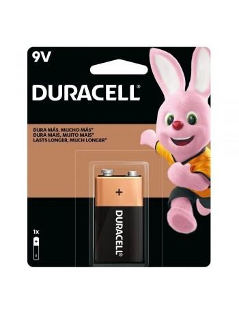 Pilha alcalina 9V Duracell