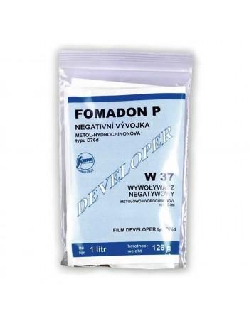 Revelador em pó Foma Fomadon P W37 para filme preto e branco - 126g (rende 1 litro)
