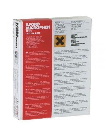 Revelador em pó Ilford Microphen para filme em preto e branco - 132g (rende 1 litro)