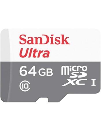 Cartão microSDXC Sandisk UHS-I Ultra 64GB - 100MB/s
