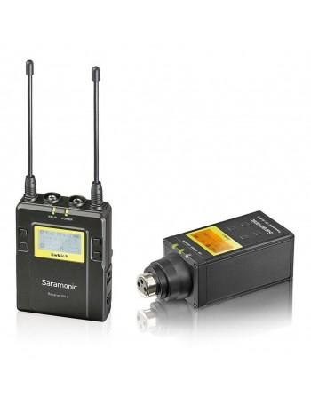 Sistema sem fio UHF Saramonic UwMic9 (Kit RX9 + TX-XLR9) para microfone